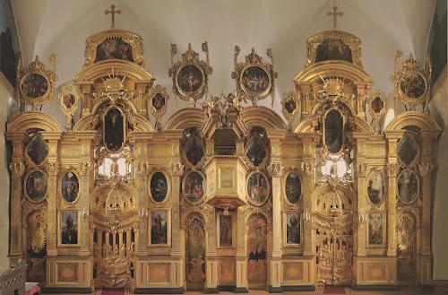 Иконостас Преображенской церкви Таллина