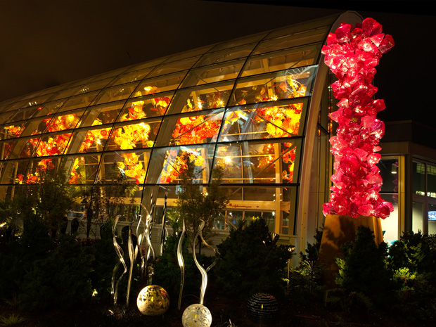 Chihuly Garden and Glass at Seattle Center