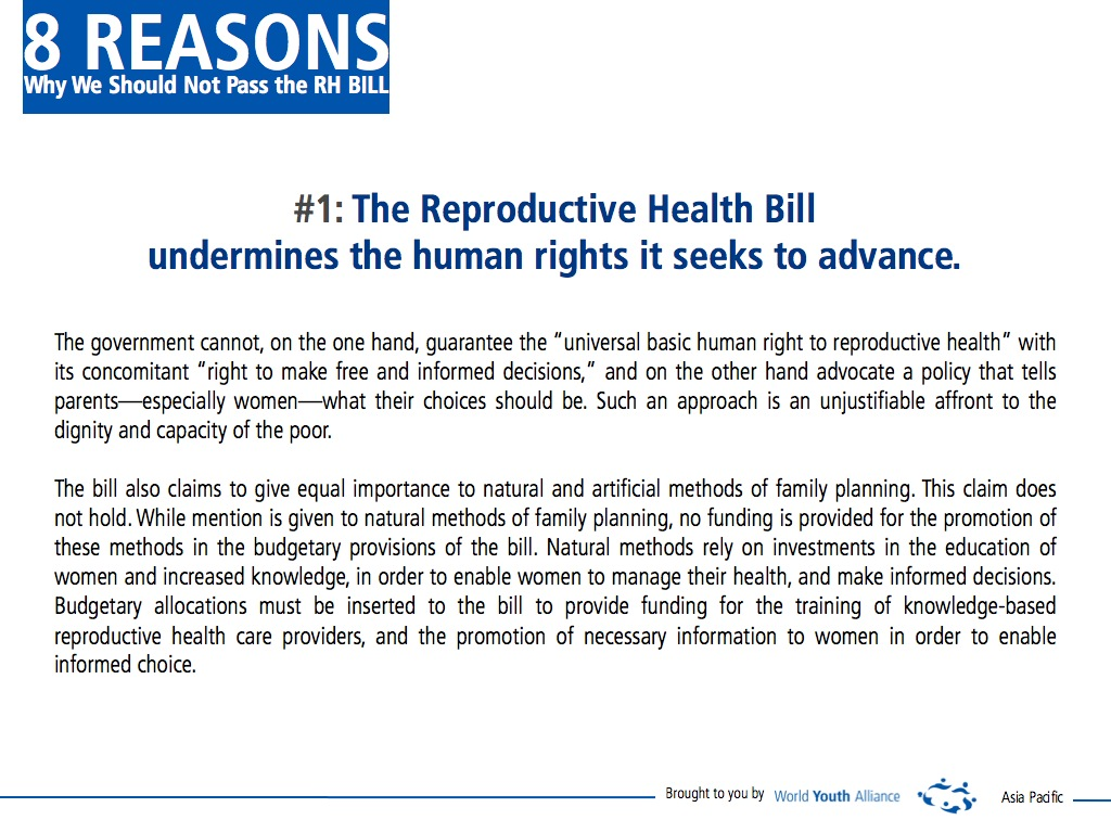 rh bill article Philippines rh act: rx for controversy the responsible parenthood and reproductive health act of 2012 (the rh act or rh bill).