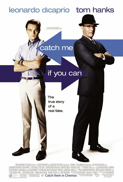 Poster Of Catch Me If You Can (2002) Full Movie Hindi Dubbed Free Download Watch Online At Alldownloads4u.Com