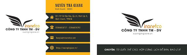 Template name card - Code : namecard089