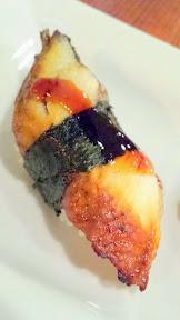 Sushi at Mirakutei, I ordered the Buri Belly, Fresh Salmon, Salmon Belly Aburi, Tuna, Unagi, Uni, and Yellowtail