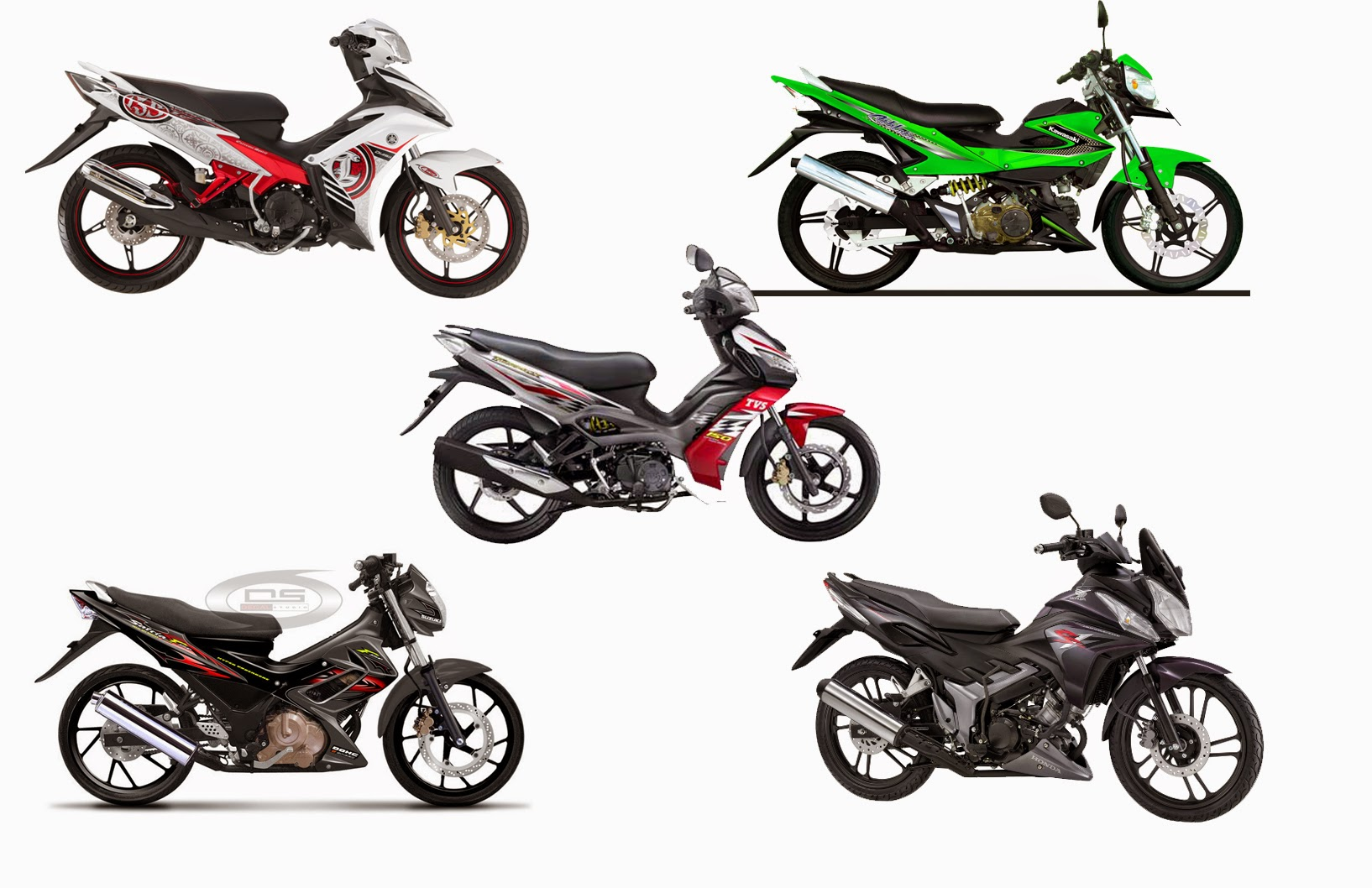Kawasaki Athlete Modifikasi Satria Fu
