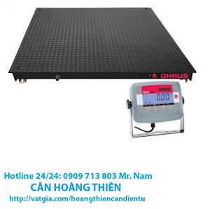 Cân sàn điện tử 1 tấn Ohaus T31p tại tphcm