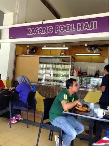 Kacang pool Haji Plaza Larkin