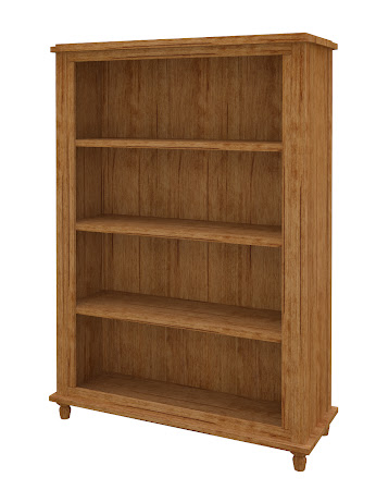 Lotus Standard Bookshelf in Como Maple