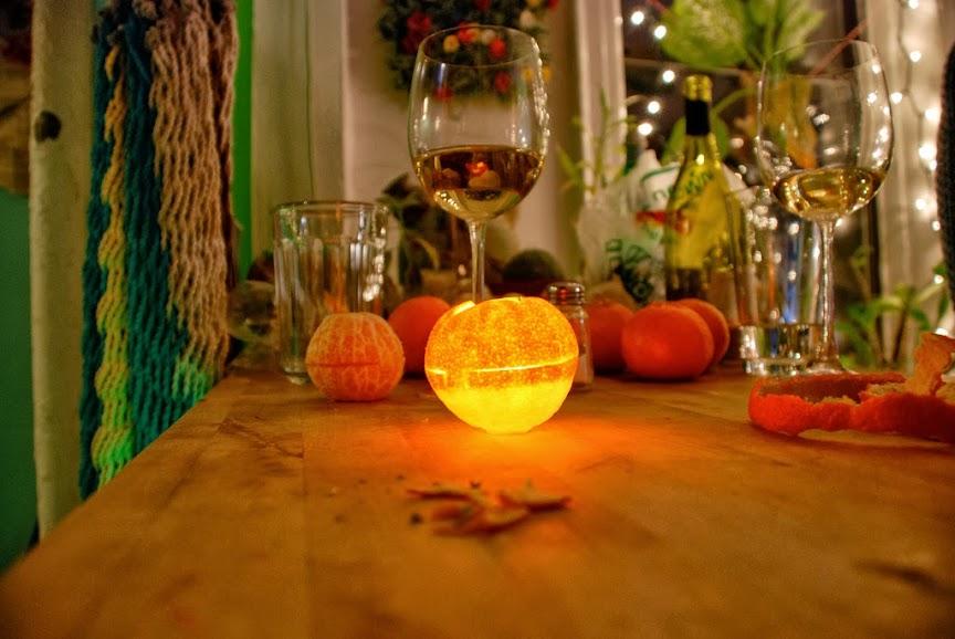 老德房東教我的事,柑橘蠟燭過耶誕