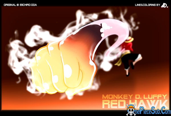 nrt monkey d  luffy   red hawk by ddsign d4onrcw Luffy