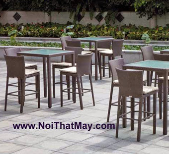 Outdoor Wicker Bar Set Minh Thy 803