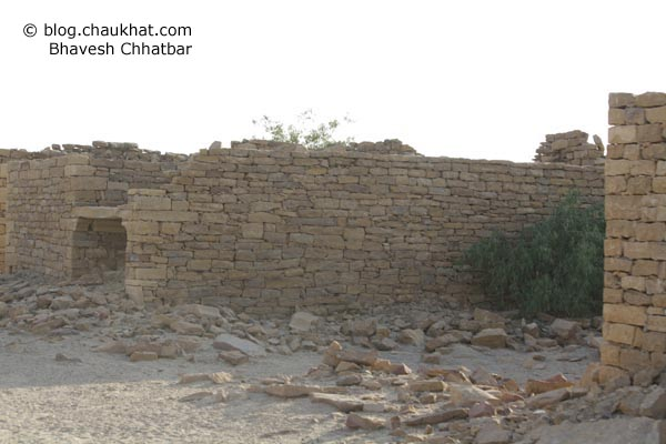 Kuldhara Village in Jaisalmer - Ruins and Remains