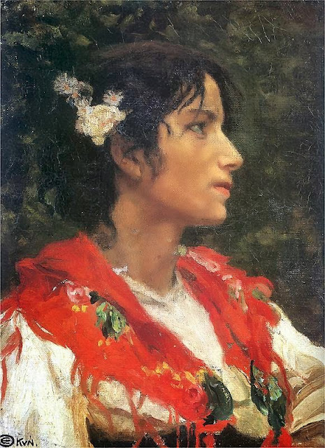 Edward Okun - Country Woman from Campania