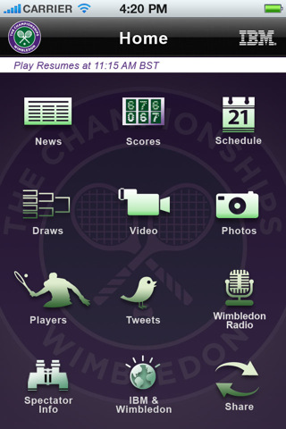 official ios wimbledon app