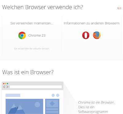Whatbrowser.org im Oktober 2012