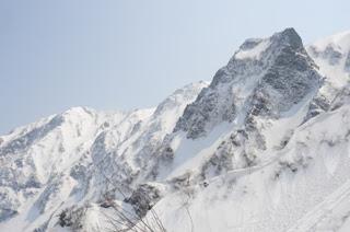別山と剣ヶ峰
