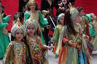 Foto del desfile infantil