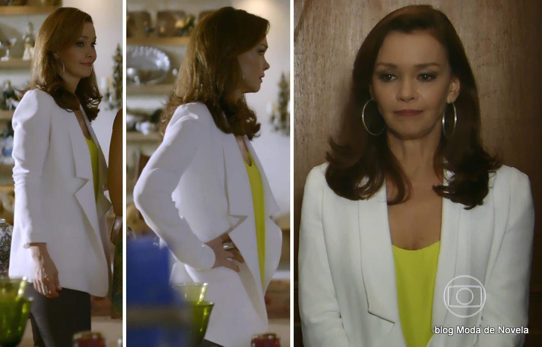moda da novela Em Família - look da Helena dia 29 de maio