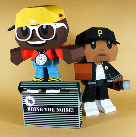 Public Enemy Paper Toy