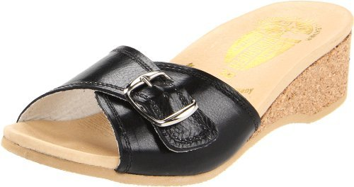 READ MORE!!! Worishofer Women's 140 Sandal,Black,38 EU 8 B