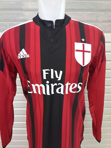 Jual Jersey AC Milan Home Lengan Panjang 2014-2015