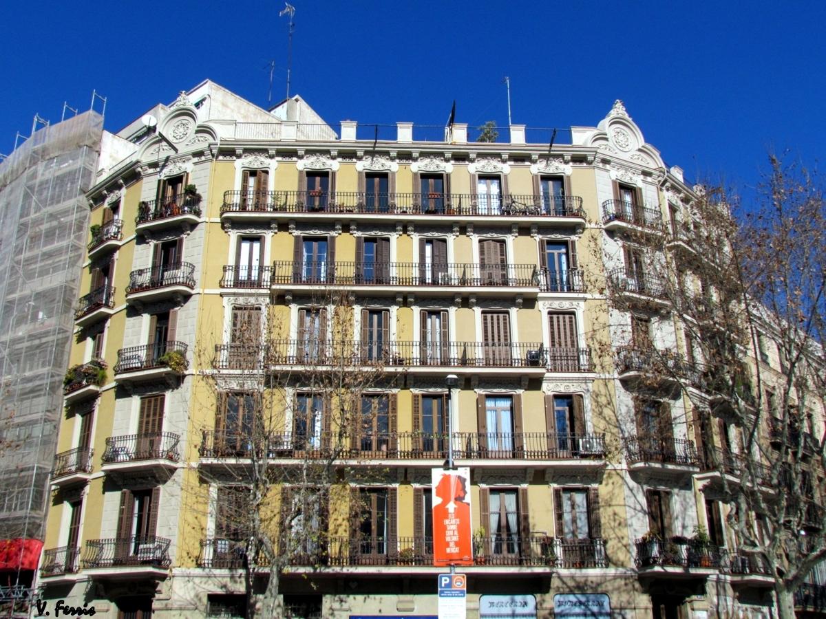 Casas jaume petit barcelona modernista - Casas modernistas barcelona ...