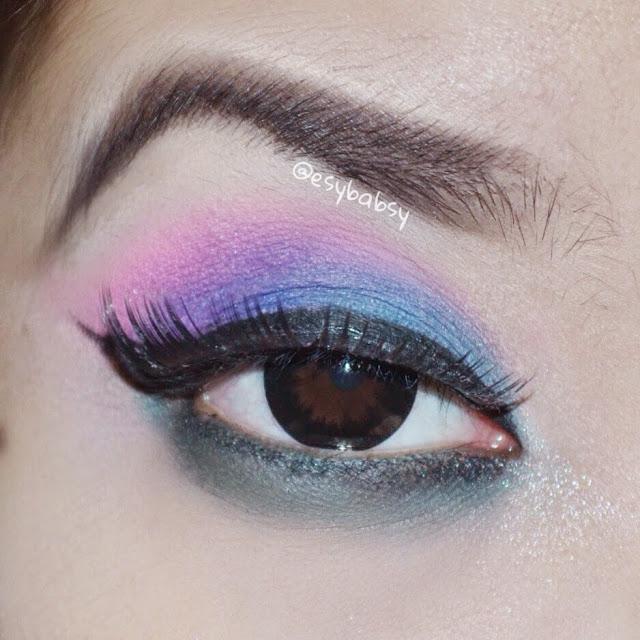 Esy Beauty Blog: Tutorial: 80s Eye Makeup