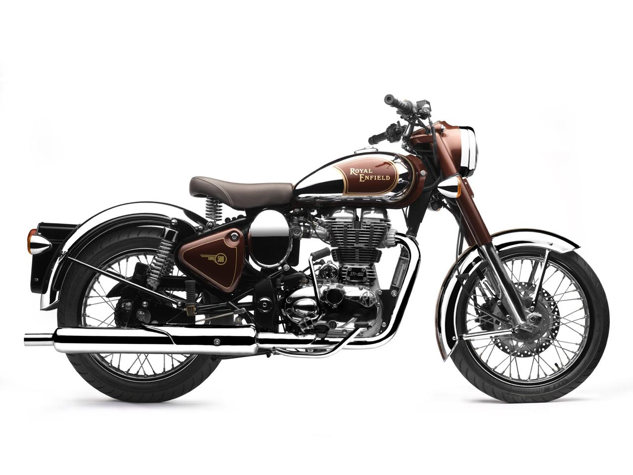 cafe racer special  royal enfield bullet classic chrome 500