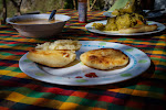 Wanting to avoid the restaurant prices in Villa de Leyva, we cooked arepas and soup at Hostel Renacer, our camping spot for four days.