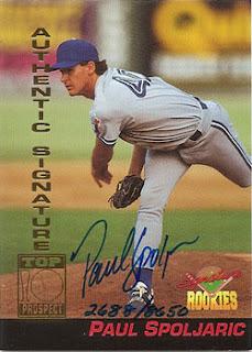 1994 Signature Rookies Paul Spoljaric