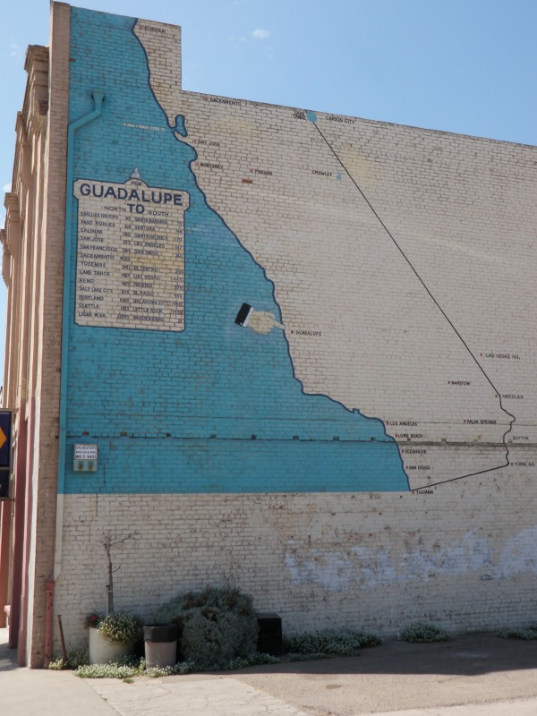 Solvang Autumn Double Century • Mural in Guadalupe