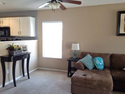 Valspar - Trotting CL 2673W interior paint color www.thebrighterwriter.blogspot.com
