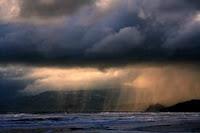 σύννεφα με βροχή