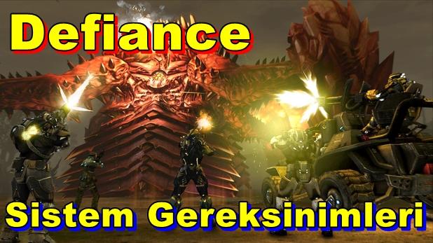 Defiance PC Sistem Gereksinimleri