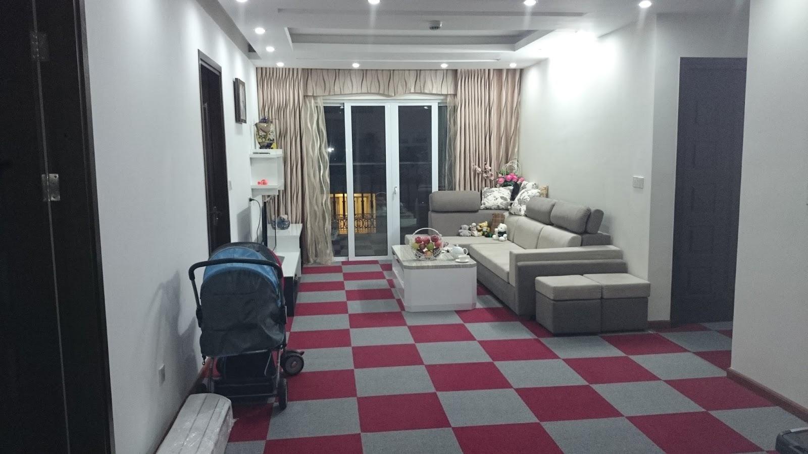 Ghé thăm nội thất căn hộ 3 phòng ngủ tại Hòa Bình Green City