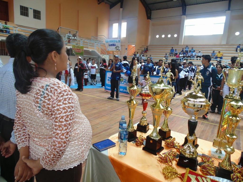 PREFECTA ENCARGADA FELICITA LA REALIZACIÓN DE LOS JUEGOS INTERMUNICIPALES PAQUISHA 2014