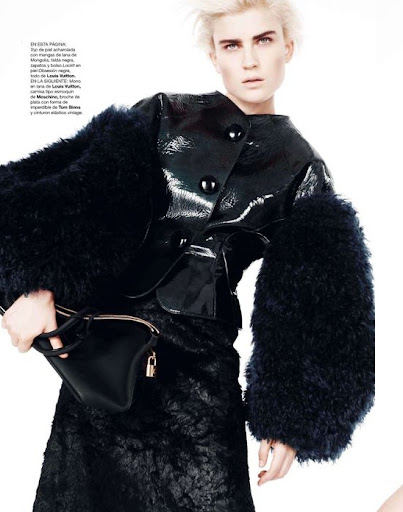 Harper's Bazaar España November 2011 - Jana Knauerova