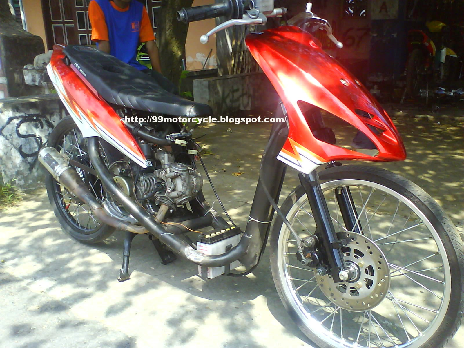 Modifikasi Motor Mio Sporty Drag
