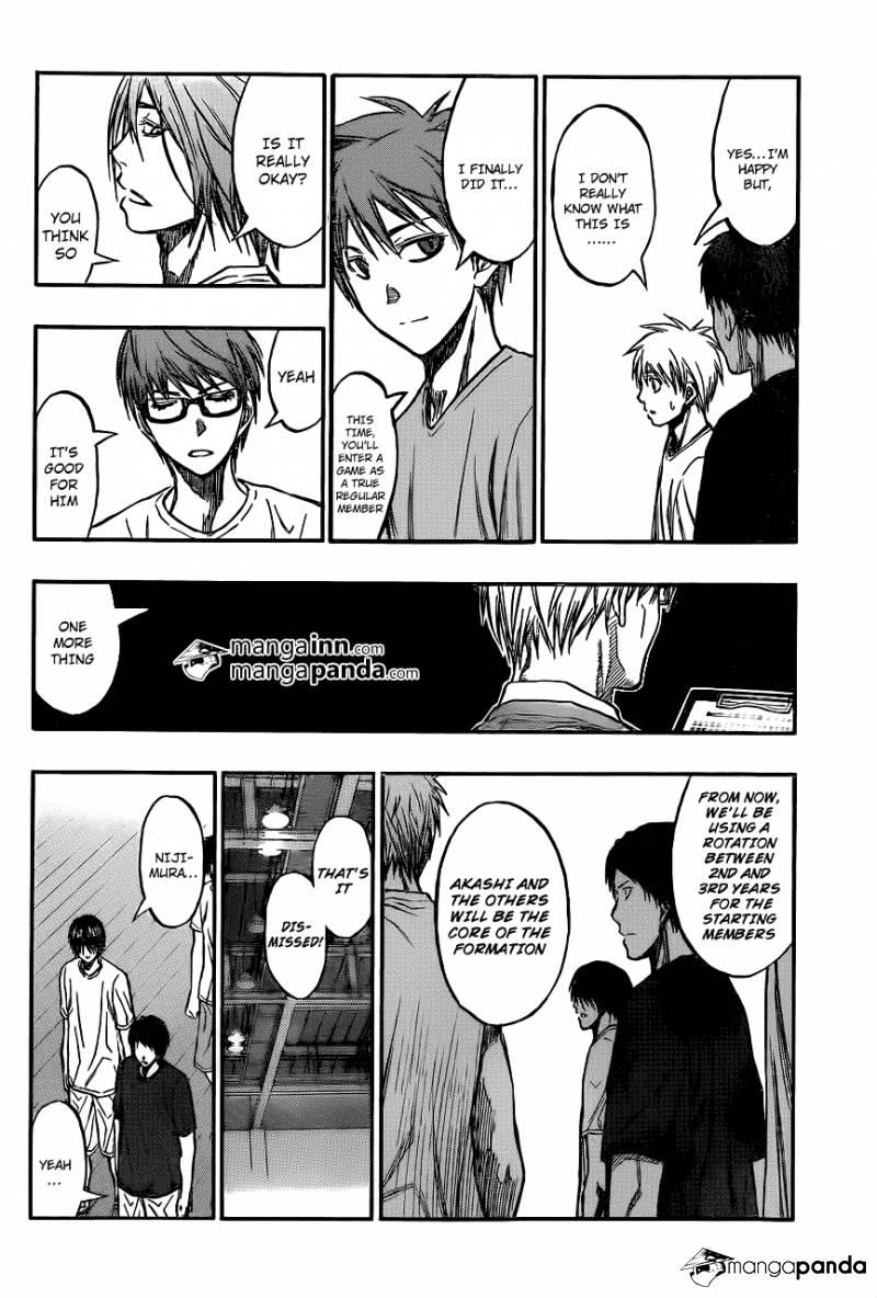 Kuroko no Basket Manga Chapter 210 - Image 10
