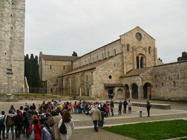 Arrivo ad Aquileia