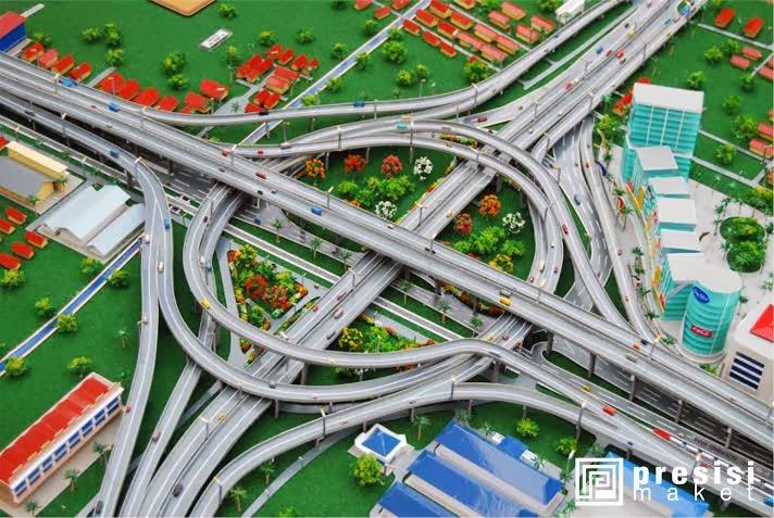 jasa pembuatan maket jalan tol