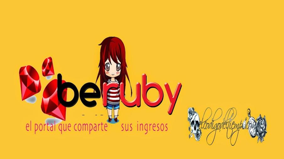 beruby la web que comparte sus ingresos