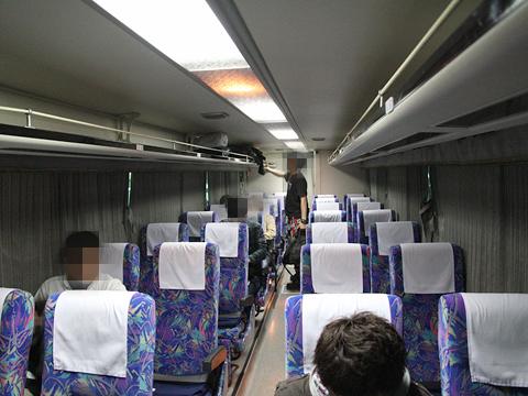 西武観光バス「Lions Express」 1410 車内 その1