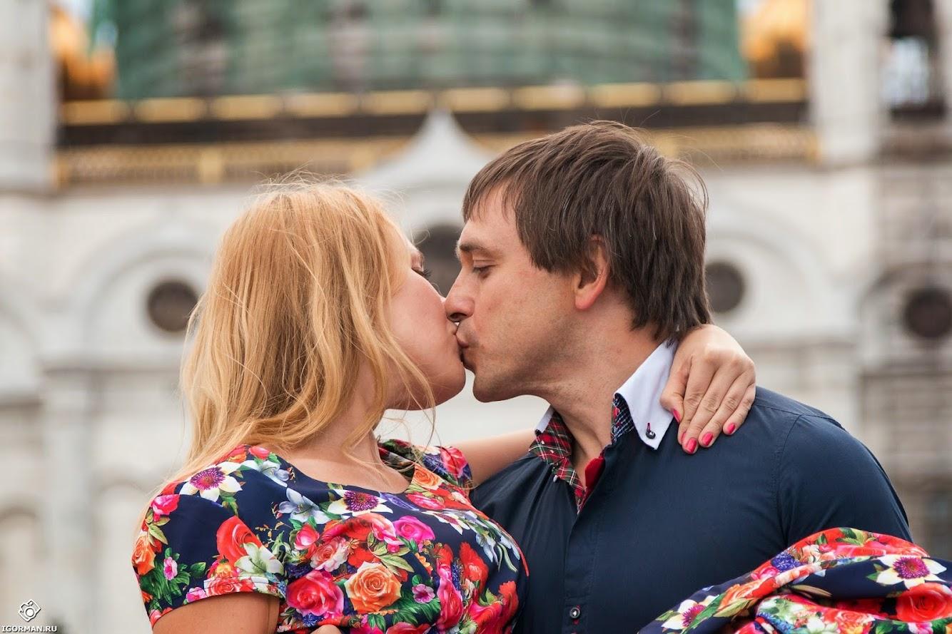 Фотосъемка Love Story - Патриарший мост, Москва