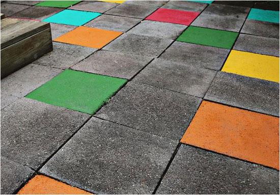 Dale color a los suelos del exterior - Pintura suelo exterior ...