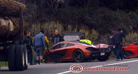 SuperCar McLaren P1 carscoops