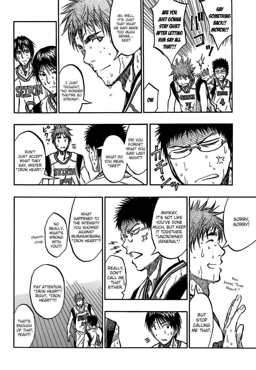 Kuroko no Basket Manga Chapter 194 - Image 06
