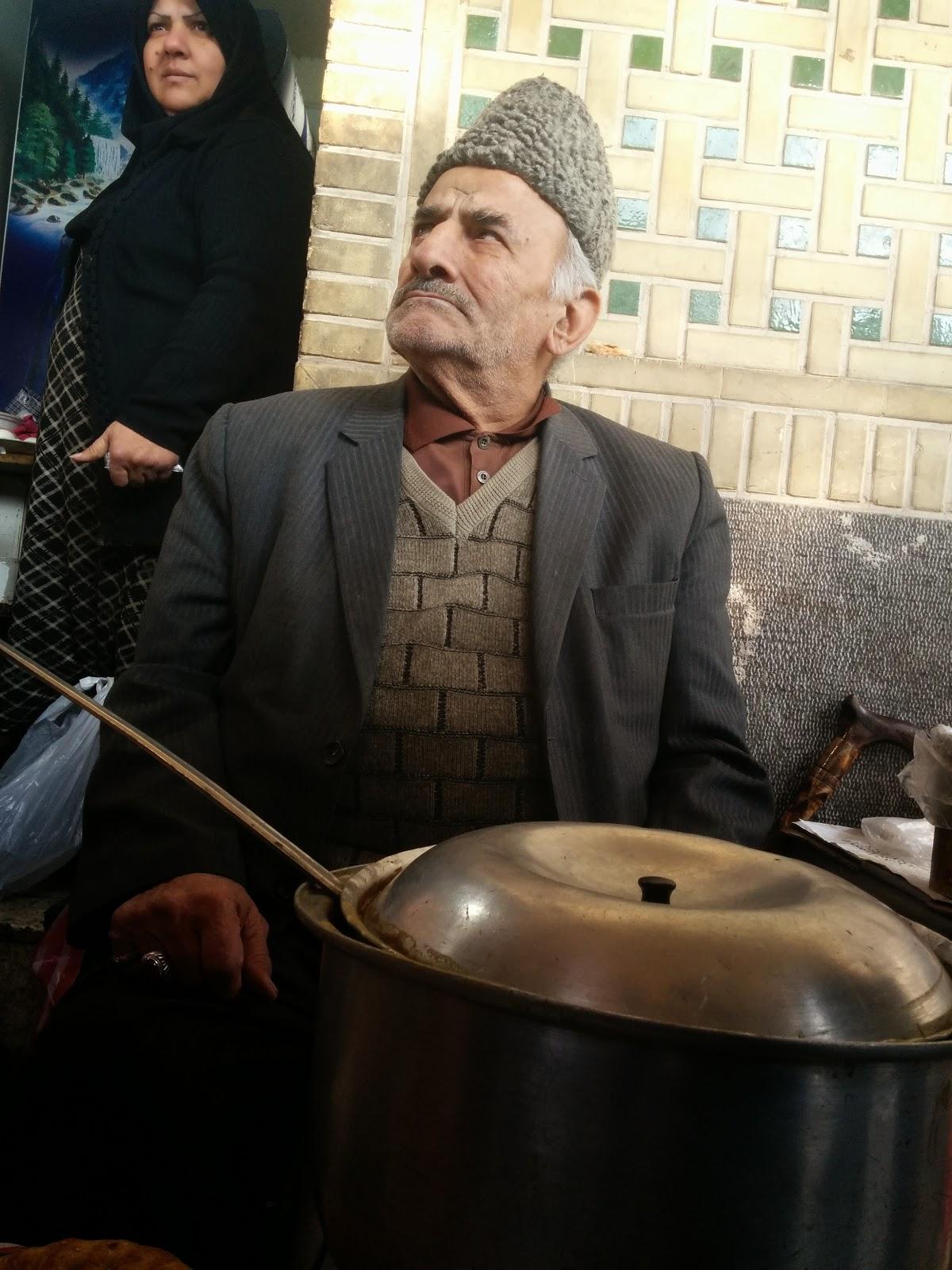 Street Shop Owner - Tehran