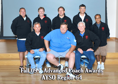 Fall 2009 Advanced Coaches
