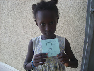 Sokhna Aminata Sarr °17/1/2005 -645- werd ingeschreven in de jardin d'enfant 2012