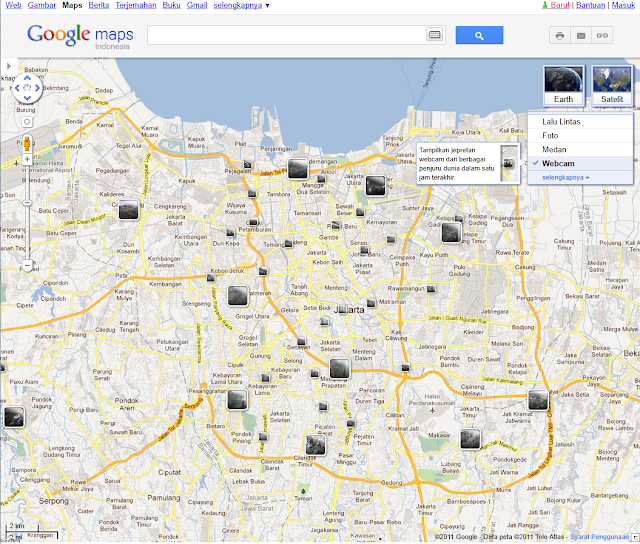 webcam google maps