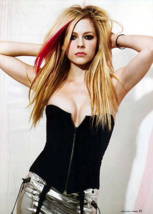 avril lavigne hair style android wallpaper zone 9197